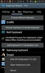 تحميل تطبيق كيبورد ماستر Keyboard Master للأندرويد مجانا