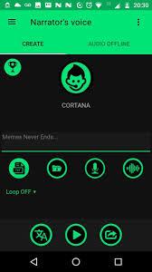 تحميل برنامج تحويل نص إلى صوت مسموع Narrator's Voice أخر إصدار للأندرويد [FREE]