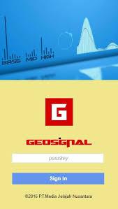 تحميل تطبيق Geosingal احدث اصدار للأندرويد