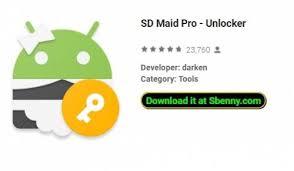 تحميل برنامج Sd maid pro unblocker مهكر للأندرويد