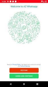 تحميل Azwhatsapp 10.60 — أز واتساب بلس ضد الحظر [2021]