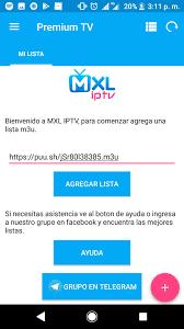 تحميل MXL TV IPTV برابط مباشر للأندرويد