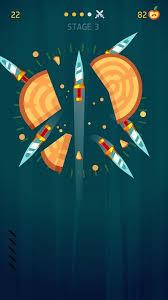تحميل لعبة السكاكين Knife Hit APK MOD مهكرة