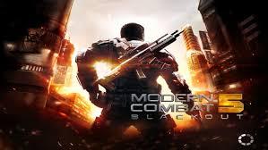 تحميل لعبة Modern Combat 5 للاندرويد مهكرة