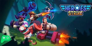 تحميل لعبة Heroes Strike مهكرة [افضل العاب مهكرة 2021]