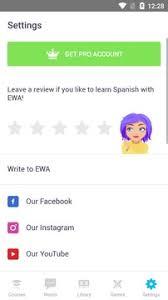 تحميل EWA مهكر لتعلم اللغة الإنجليزية [المدفوع]