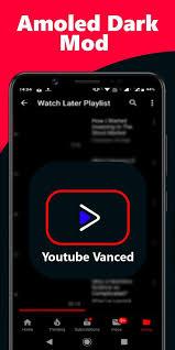 تحميل يوتيوب فانسد الاسود YouTube Vanced APK مهكر بدون اعلانات