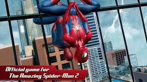 تحميل لعبة The Amazing Spider Man 2 مهكرة من ميديا فاير