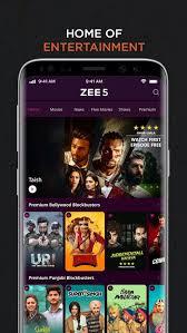تحميل ZEE5 مهكر | افلام هندية مترجمة
