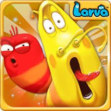 تحميل لعبة Larva Heroes مهكرة للأندرويد