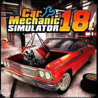 تحميل لعبة Car Mechanic Simulator 18 مهكرة