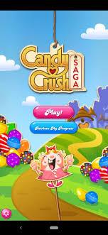 تنزيل كاندي كراش Candy Crush Saga مهكرة للأندرويد