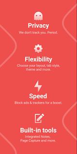 تحميل Vivaldi Browser With Ad block للأندرويد