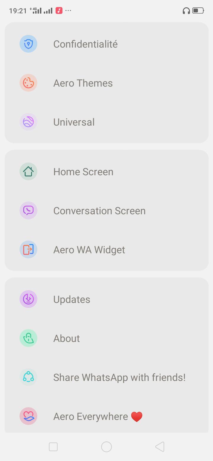 تحميل Whatsapp Aero V8.95 واتساب ايرو 2021 [واتس ايرو]