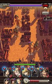 تحميل لعبة Attack on Titan Tactics مهكرة للأندرويد
