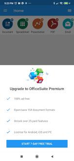 تحميل برنامج Office suite مهكر للأندرويد 2021