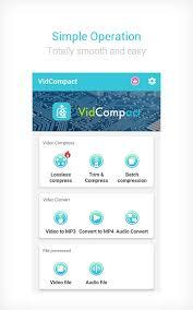 تحميل برنامج VidCompact مهكر للأندرويد